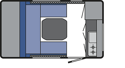 T@B 320 RS Caravan Layout